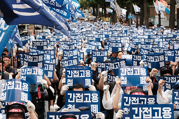 [labor news] GM Korea lays off irregular workers en masse at its Bupyeong plant